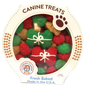 Claudia's Canine Cuisine PRESENTS HOLIDAY Christmas DOG COOKIES