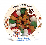Claudia's Canine Cuisine White STARS HOLIDAY Christmas DOG COOKIES