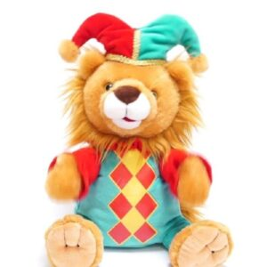 Cuddle-Barn-LEO-the-JESTER-Singing-Animated-Musical-Plush-Toy-Thats-Amore-LION-401491771640